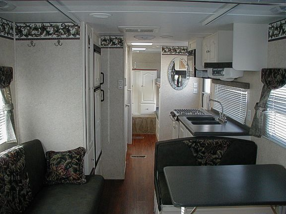 Popular  Options The Trailer Includes Window Screens And Privacy Shades