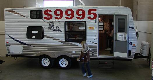 If You Prefer To Bypass The Tent And Pop Up Camper Stages But Donu0027t Want To  Spend More Money Than You Would For A Large Tent Trailer, You Are In Luck.