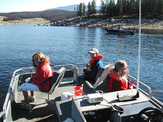 Outback 26 rs for Lake granby fishing report